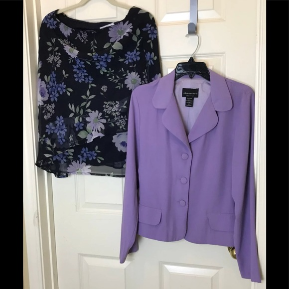 Connected Apparel Other - Connected Apparel_Jacket & Skirt Suit_Size 12